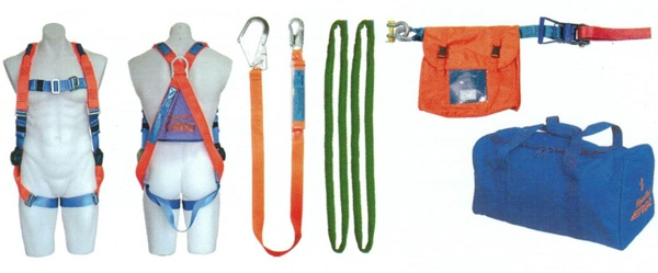 6000 Safety Kit Roof Workers Kit With 11mm Kernmantle