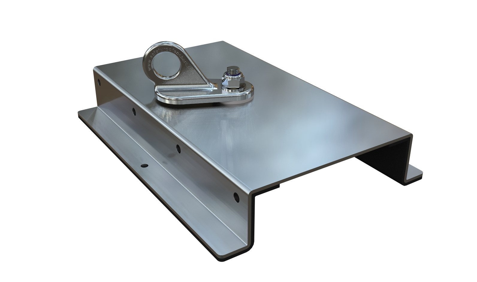 Surface mount & purlin anchors for steel roofs - Safety Roof Anchors